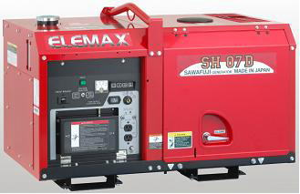 Elemax Generator Japan Products Line Up